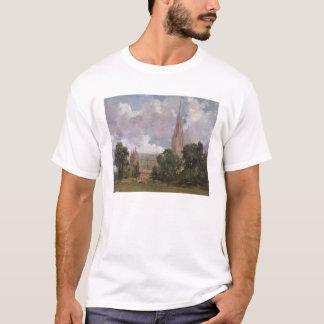 Cathédrale de Salisbury de l'ouest du sud T-shirt