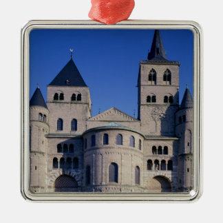 Cathédrale de St Peter Ornement Carré Argenté