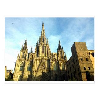Cathédrale gothique Barcelone, Barri Gotic Cartes Postales