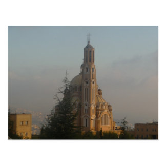 Cathédrale Liban de Jounieh Carte Postale