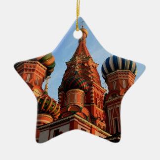 Cathédrale Russie de basilic de St Ornement Étoile En Céramique