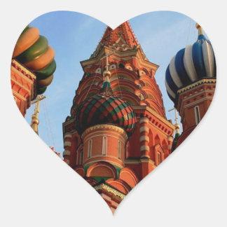 Cathédrale Russie de basilic de St Sticker Cœur