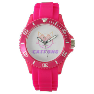 Catpong (rose) montres