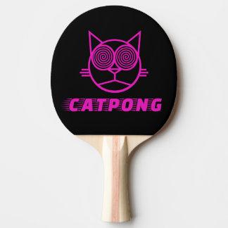 Catpong (rose) raquette tennis de table