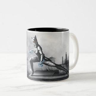Catwoman - foudre tasse 2 couleurs