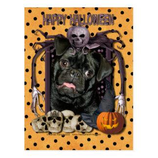 Cauchemar de Halloween - carlin - Ruffy Cartes Postales