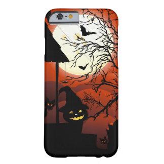 Cauchemar sanglant de clair de lune de Halloween Coque iPhone 6 Barely There