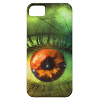cauchemar vert personnalisable de Halloween Étuis iPhone 5