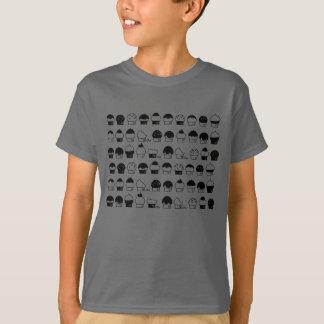 Cavalcade de petit gâteau - motif de répétition t-shirt