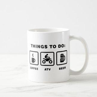 Cavalier d'ATV Mug