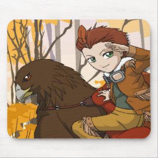 Cavalier de fée de Manga Tapis De Souris