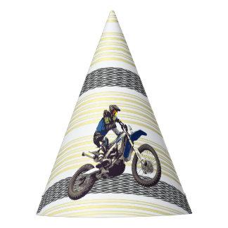 Cavalier de Motorcross Chapeaux De Fètes