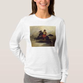 Cavalier de Nubian au galop T-shirt