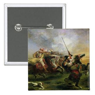 Cavaliers marocains dans l'action militaire, 1832 badges