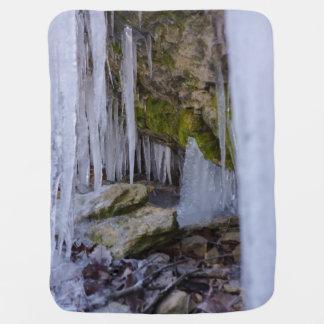 Caverne de glace couverture de bébé
