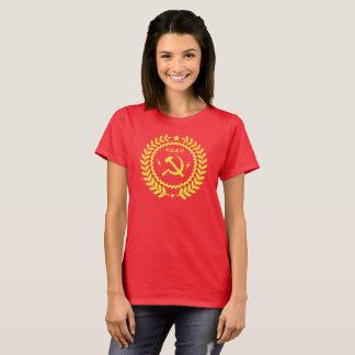 CCCP Hamer et T-shirt de base des femmes d'emblème