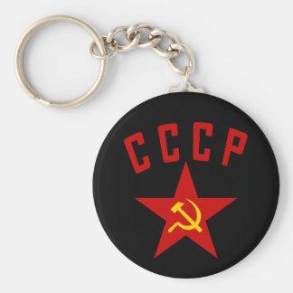 CCCP (porte - clé de style M) Porte-clé Rond