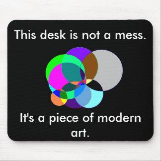 Ce bureau est mousepad d'art moderne tapis de souris
