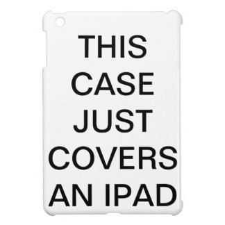 Ce cas couvre juste un iPad Coques Pour iPad Mini