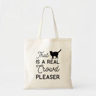 ce chat veuillez être une vraie foule fourre-tout sacs fourre-tout