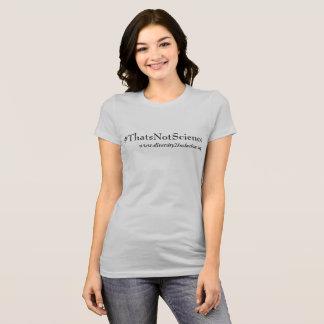 Ce n'est pas T-shirt de la Science