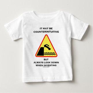 Ce peut être toujours regard contre-intuitif t-shirts