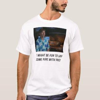 Ce pourrait être amusement pour poser un certain t-shirt