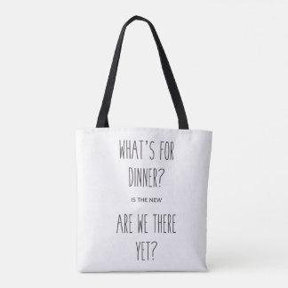 Ce qui est pour le sac fourre-tout à dîner
