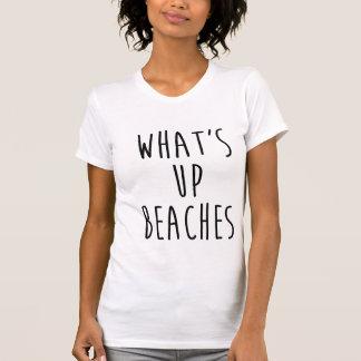 Ce qui est vers le haut de chemise de plages