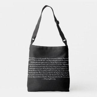 Ce qui est votre sac fourre-tout à signe de