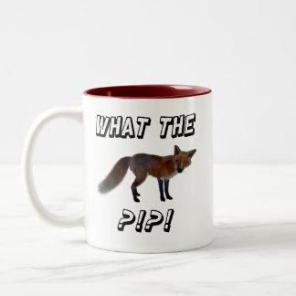 Ce qui le Fox ? ! ? ! ? Tasse 2 Couleurs