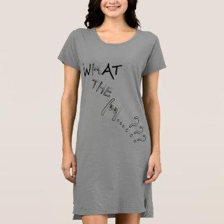 Ce qui le H ? ? ? Robe du T-shirt des femmes