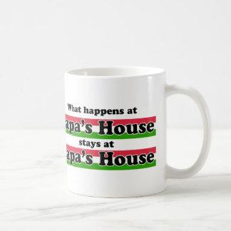 Ce qui se produit à la Chambre de papas Mug