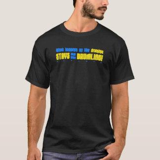 Ce qui se produit sur le T-shirt de Drumline