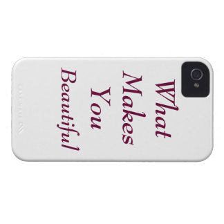 Ce qui vous fait le beau cas coque Case-Mate iPhone 4