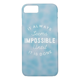 Ce semble toujours impossible coque iPhone 7