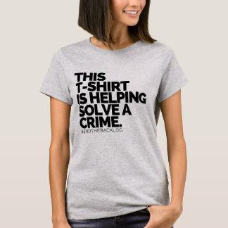 Ce T-shirt aide résolvent un crime