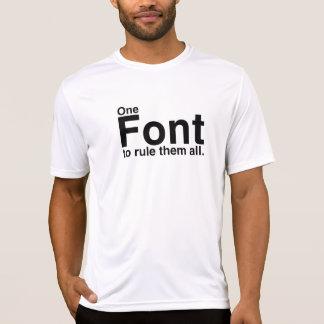 Ce T-shirt de Rulez 2 de police