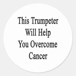Ce trompettiste vous aidera à surmonter le Cancer Adhésif Rond