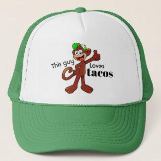 Ce type aime le casquette affamé de camionneur de