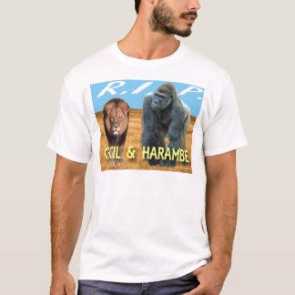 Cecil et T-shirt de Harambe