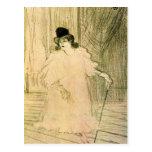 Cecy Loftus par Toulouse-Lautrec Carte Postale