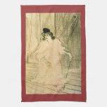 Cecy Loftus par Toulouse-Lautrec Serviettes Éponge