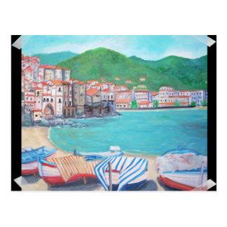 Cefalu, carte postale de la Sicile