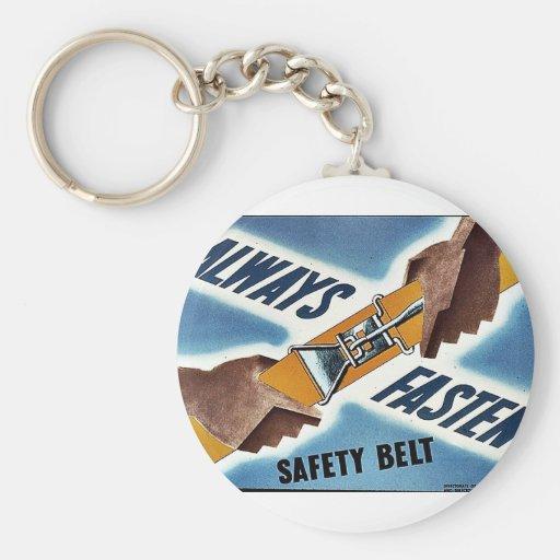 Ceinture de sécurité porte-clefs