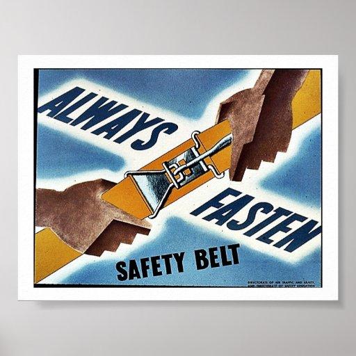 Ceinture de sécurité posters