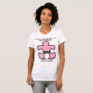 Ceinture noire d'autisme ce qui est votre T-shirt