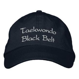 Ceinture noire du Taekwondo - casquette de Casquette Brodée