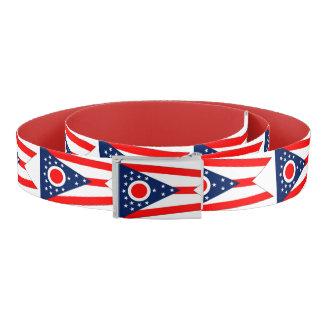 Ceinture patriotique avec le drapeau de l'Ohio,