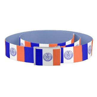 Ceinture patriotique avec le drapeau de New York